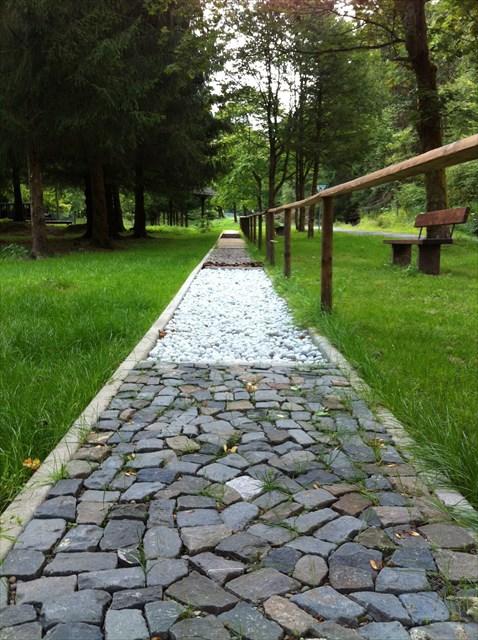 Sieber - Barfußweg